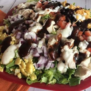 BBQ Ranch Chicken Salad – 4 WW Freestyle SmartPoints