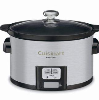 Cuisinart Slow Cooker Giveaway! (Winner!)