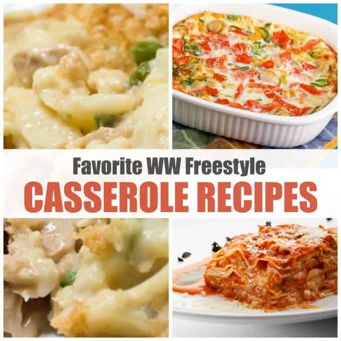 favorite ww freestyle casserole recipes
