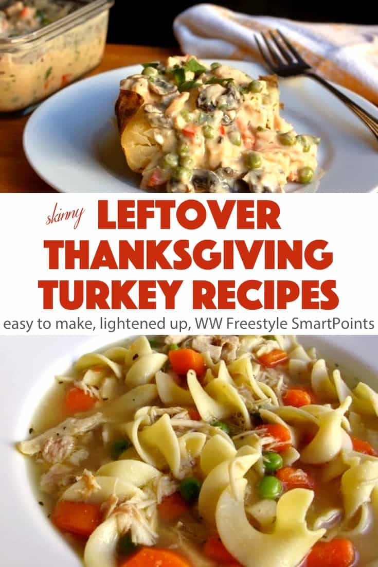 For me, the best part of roasting a turkey for Thanksgiving or Christmas (or anytime for that matter), is all the delicious recipes you can make from the leftover turkey. #healthyleftoverthanksgivingturkeyrecipes #turkey
