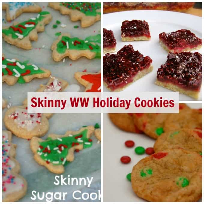 ww skinny holiday christmas cookies collection