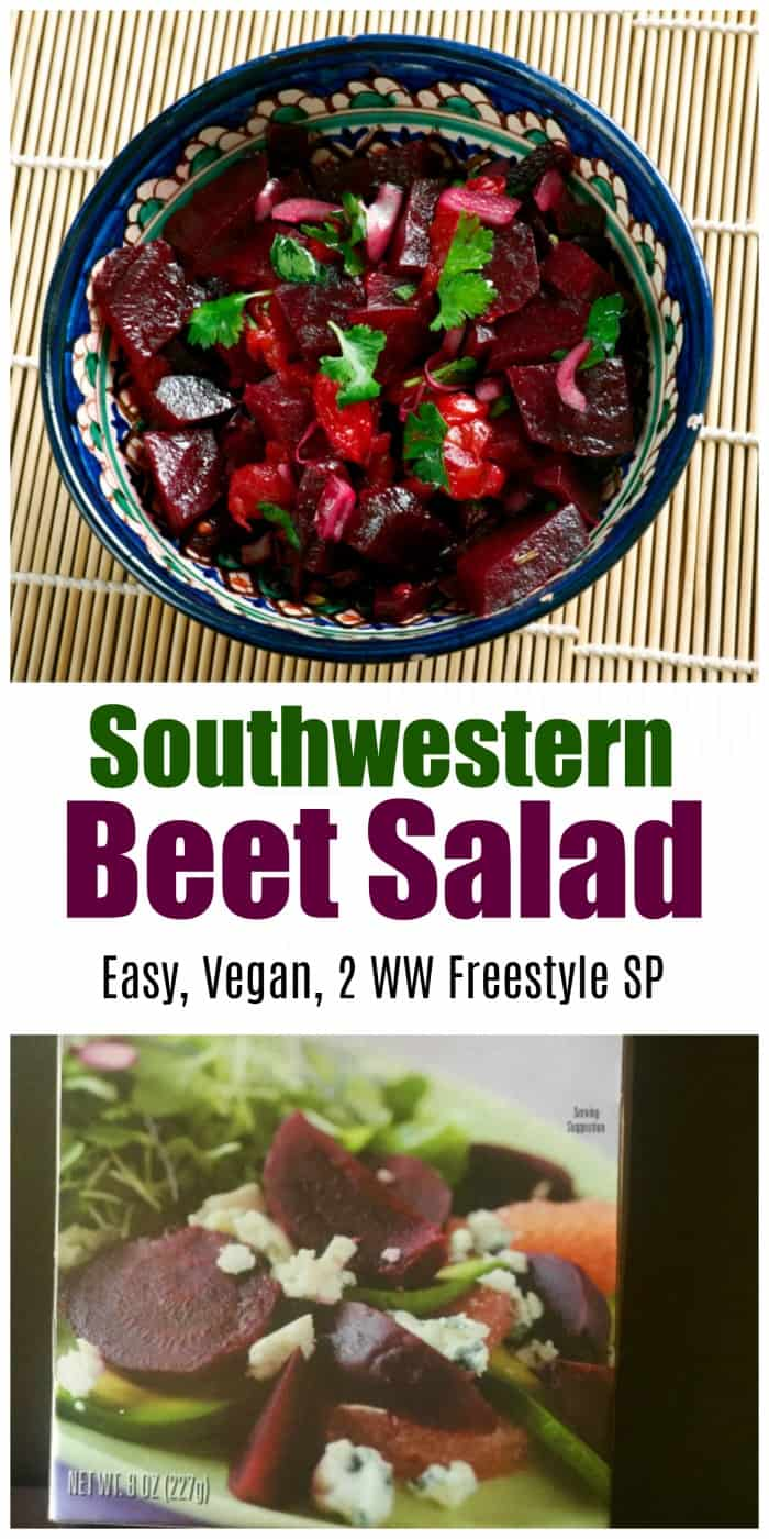 WW Freestyle Recipe: Southwestern Beet Salad, 2 SmartPoints, Easy, Healthy, Low Carb, Vegan, Low Calorie