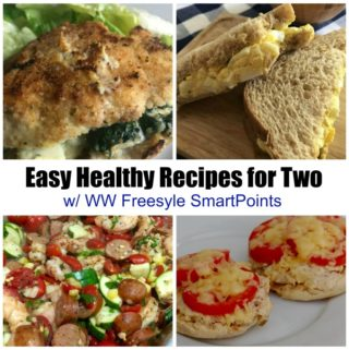 easy healthy ww freestyle recipes for two