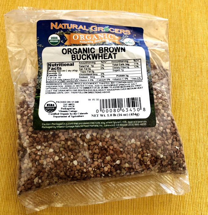 Packaged Organic Brown Buckwheat from Natural Grocers