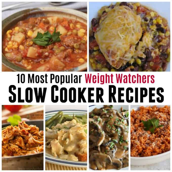 10 Most Popular Weight Watchers Slow Cooker Recipes 2019