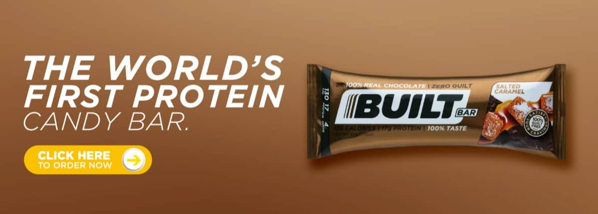 Built Bar Salted Caramel Protein Bar