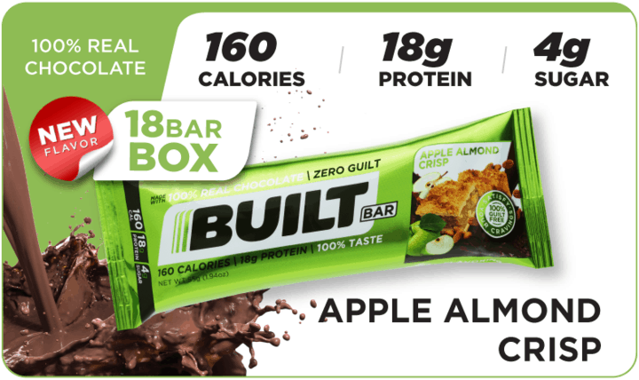 Apple Almond Crisp - Built Bar