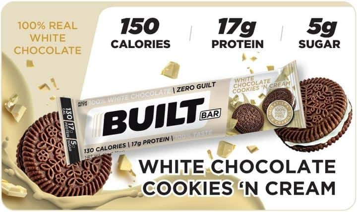 Built Bar - White Chocolate Cookies 'n Cream Limited Release