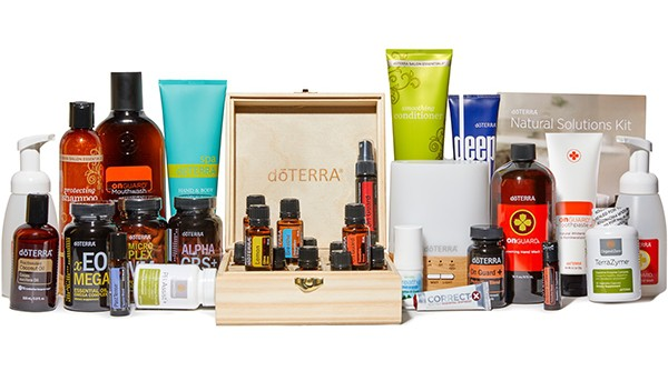 Sample items from doTerra Natural Solutions Kit