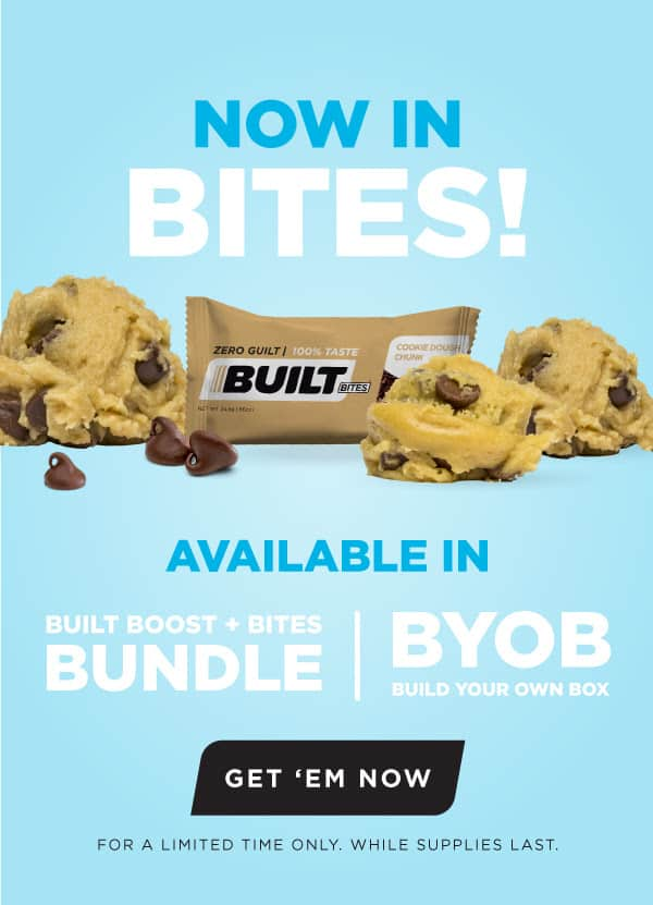 Built Bites Cookie Dough Chunk