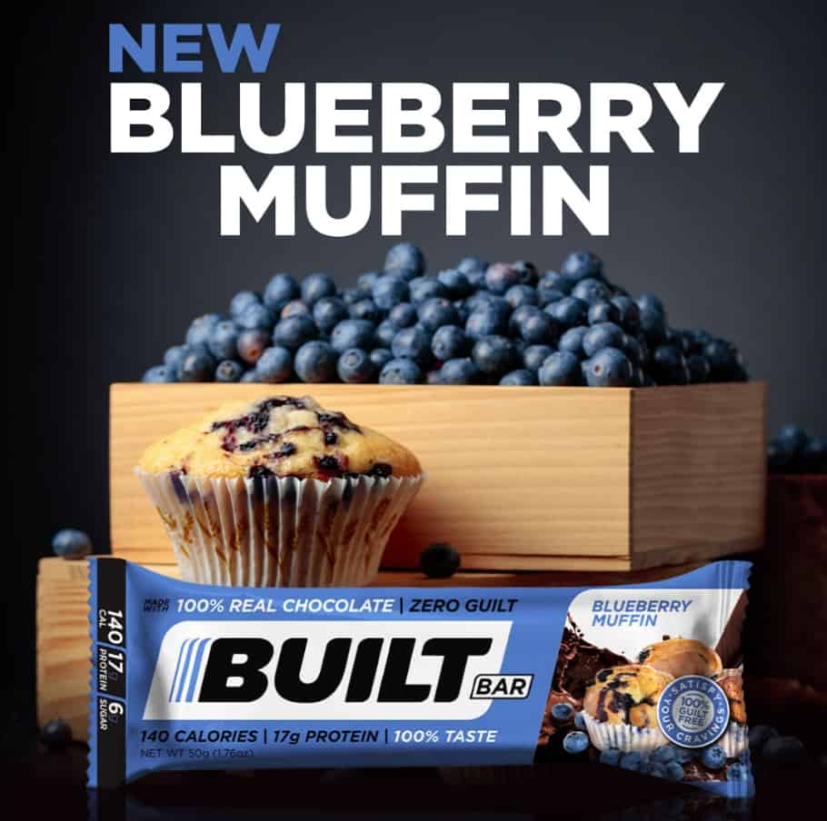 Built Bar Blueberry Muffin - Limited availability!