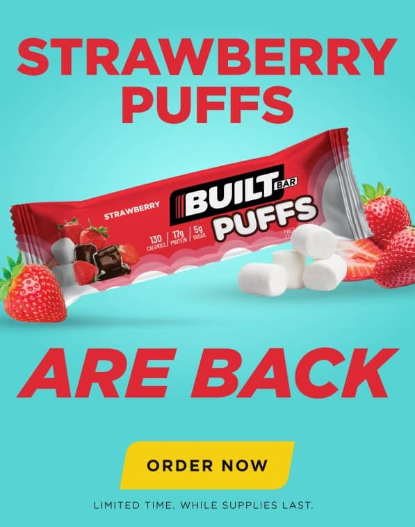 Strawberry Puffs - Limited availability!